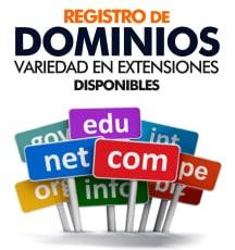 Registro de Dominios en Promocion