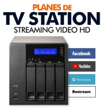 Planes de Video Streaming para TV Station y Live